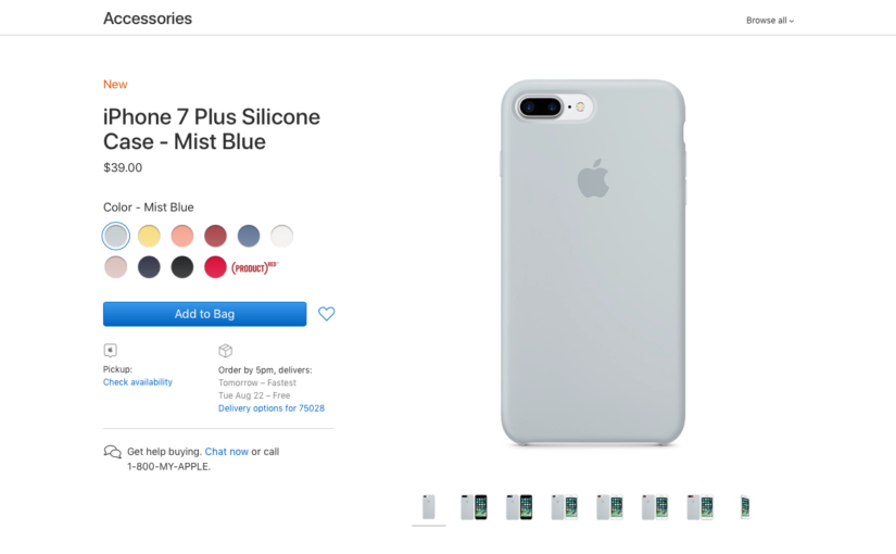 Apple Discontinuing Some Accessory Colors Before Busy Fall