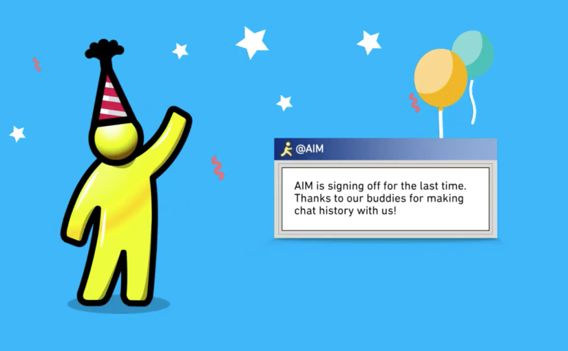 AOL Instant Messenger Officially Rides off Into the Sunset