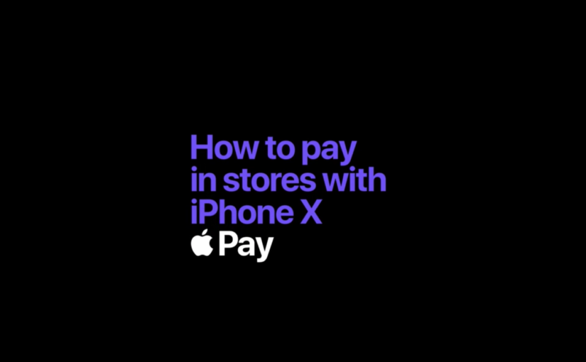 Apple's Latest iPhone X Tutorial Video Tackles Using Apple Pay in Stores