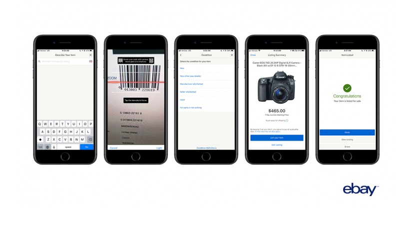 Selling Items on eBay is Even Easier Thanks to the Updated iOS App