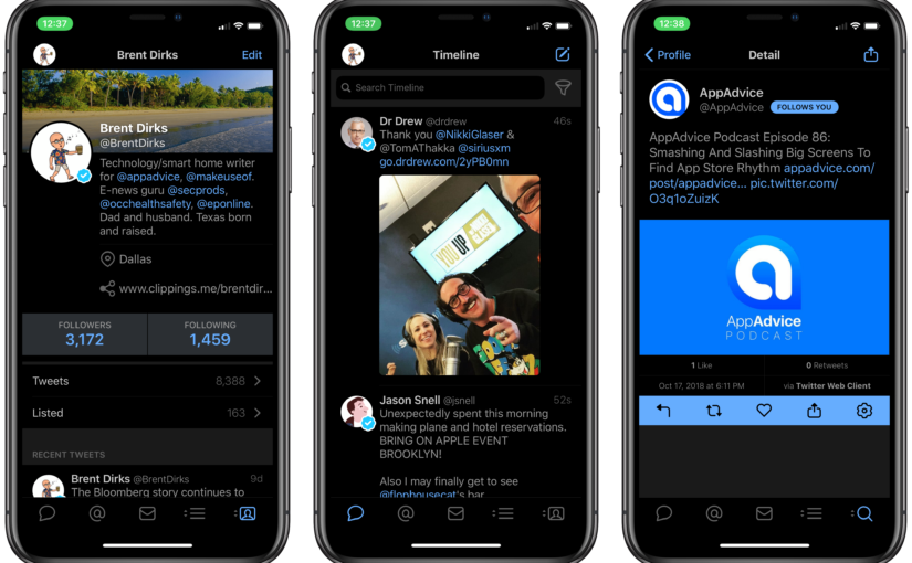 Tweetbot 5 Lands With a New Design, Better Dark Mode and More