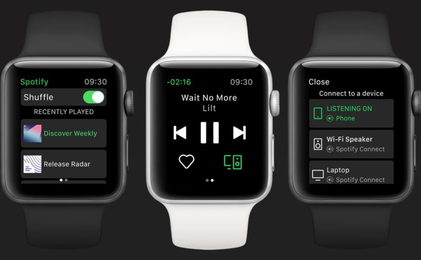 Spotify Lands on Apple Watch With a Sparse Feature Set