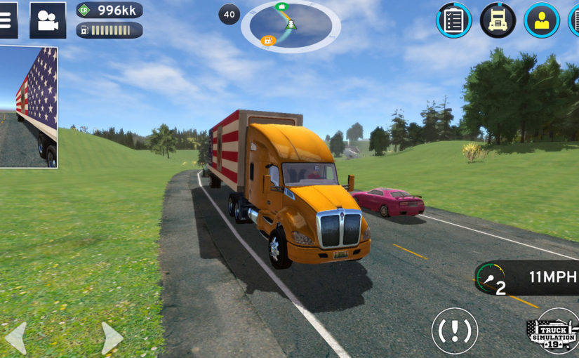 Truck Simulation 19, Out Now, Contains A Virtual USA To Explore
