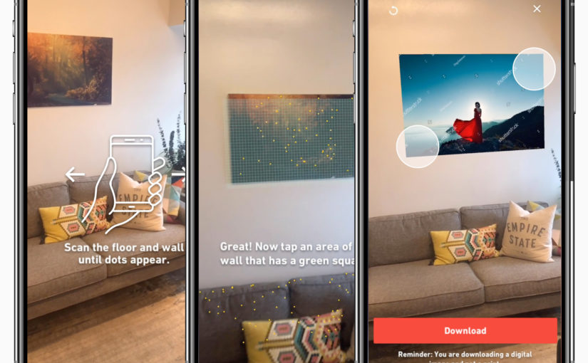 Shutterstock's iOS App Updated With New Augmented Reality Feature