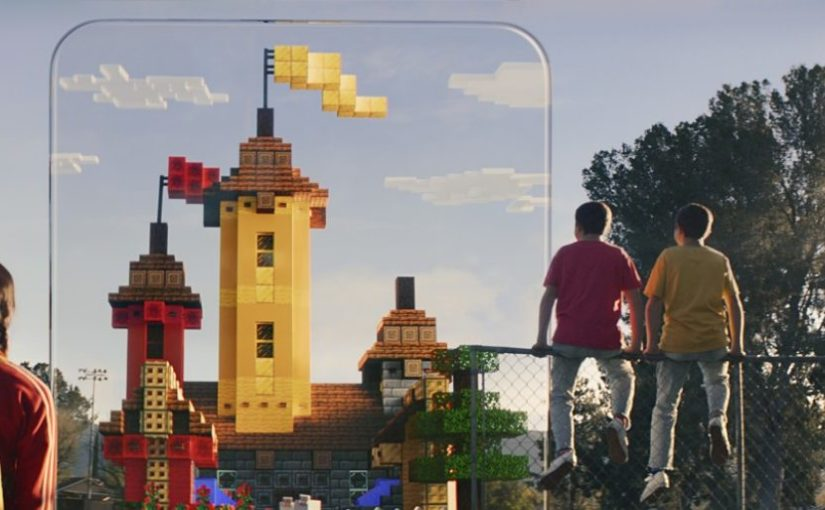 Minecraft Earth Brings Augmented Reality to the Popular Block-Building World