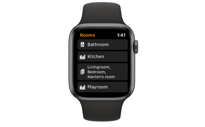 Lyd Provides an Unofficial Way to Control Sonos Speakers from Apple Watch