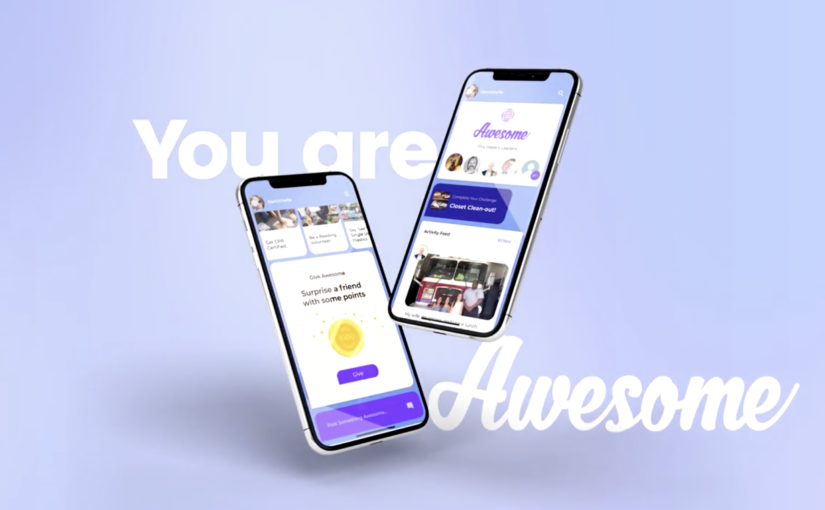 Awesome Gamifies Positivity with its Innovative Social Media App
