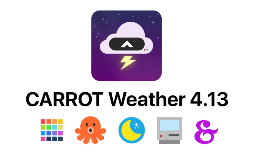 Carrot Weather Update Brings iOS 13 Dark Mode Support, Better Siri Shortcuts and More