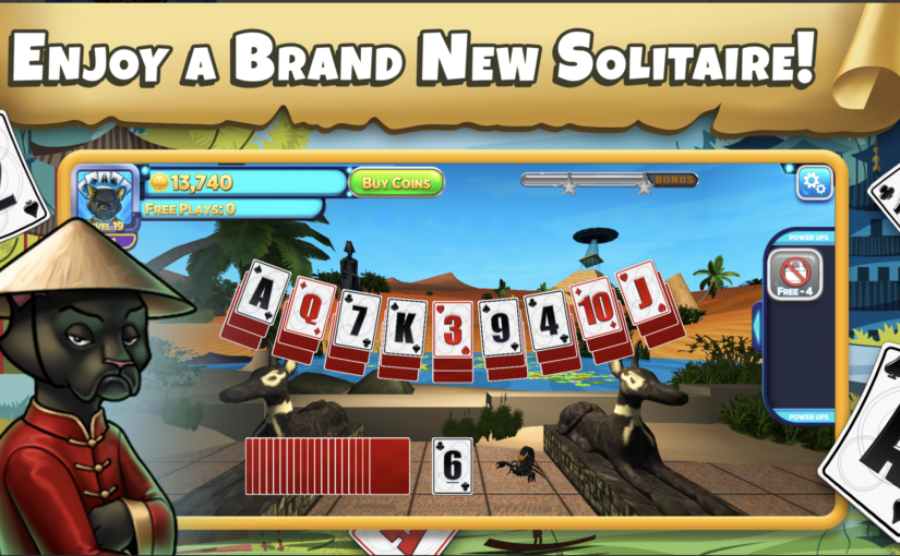 Solitaire Time Warp Reveals an Exciting Solitaire Adventure