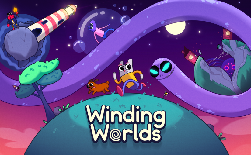 Finger-Wiggling Puzzle Winding Worlds Lands on Apple Arcade