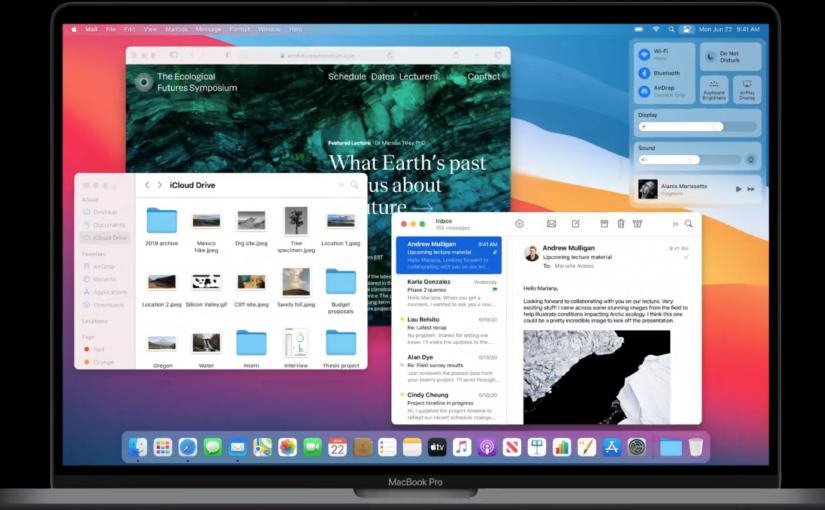 macOS Big Sur Comes With a New Design, Big Safari Update