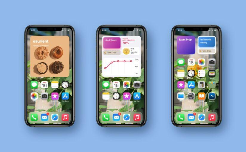 Handy Dictionary App LookUp Gains iOS 14 Widgets, New Apple Watch App