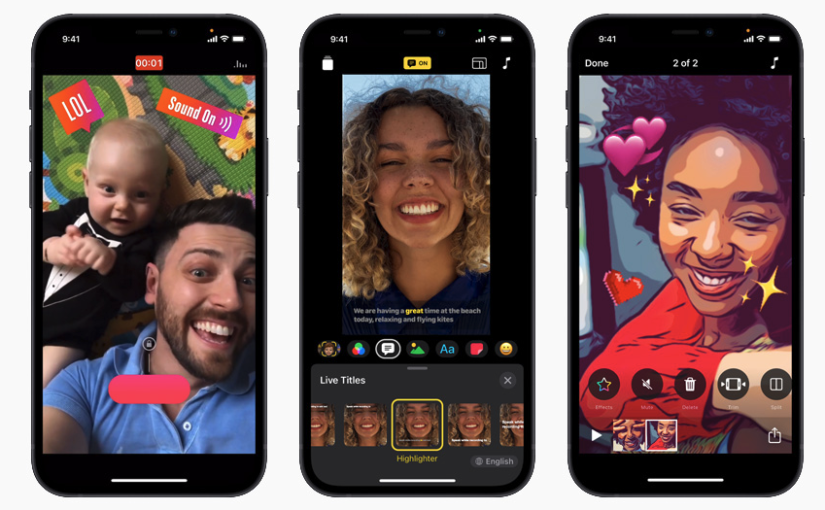 Apple's Clips App Update With Revamped Interface, HDR Recording for iPhone 12