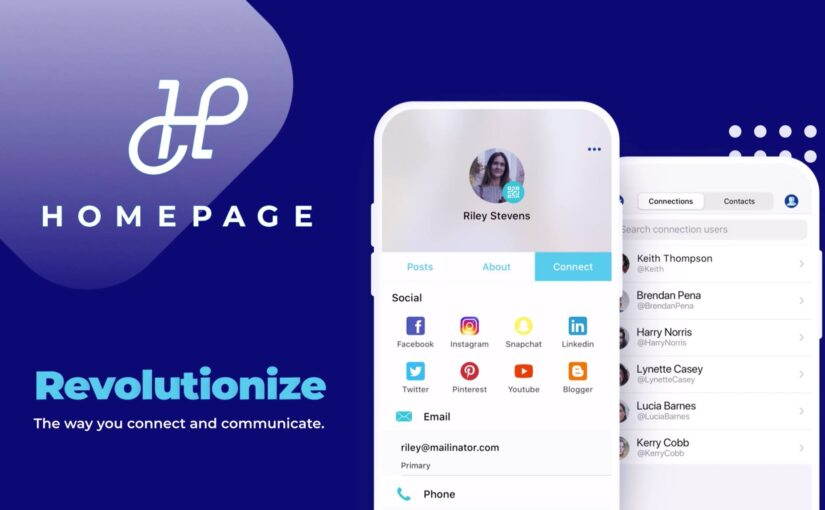 HomePage is an Ingenious New App That Uses QR Codes for Contact Sharing