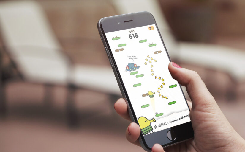 Classic App Store Game Doodle Jump Finally Gets a Sequel