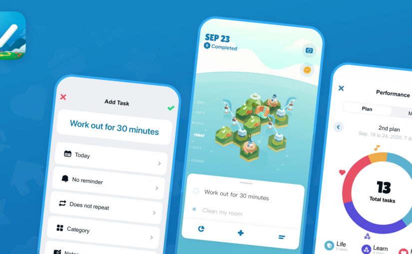 To-Do Adventure Gamifies Productivity by Letting You Build a Virtual World