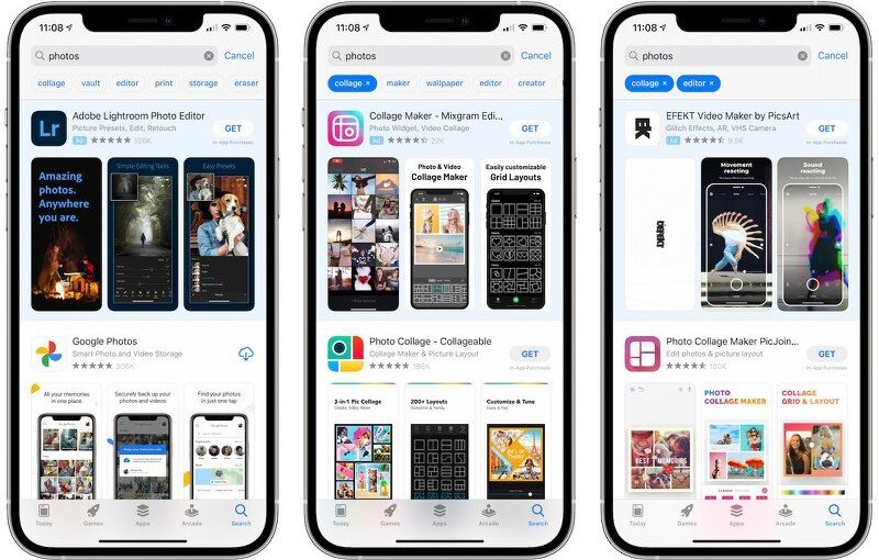 Apple Testing Tags for App Store Searching