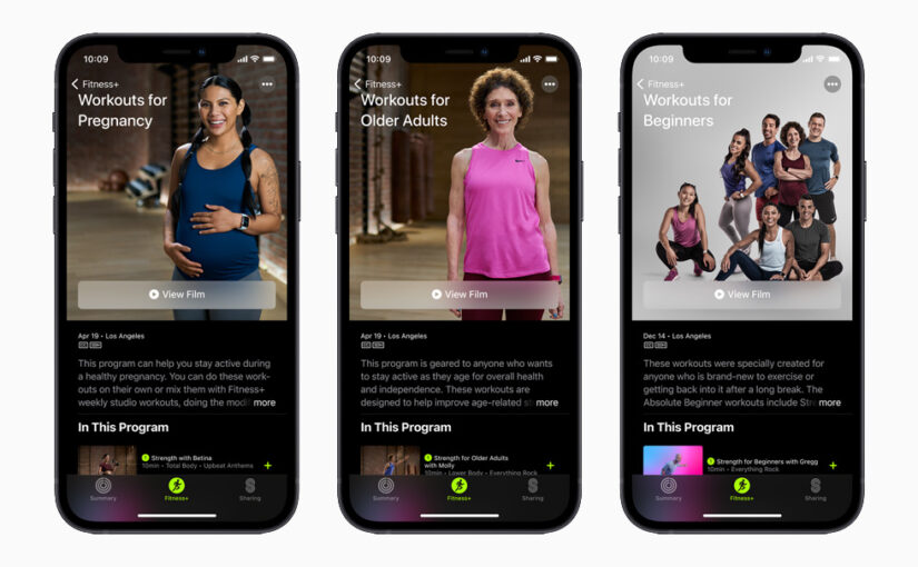 New Workouts, Trainers and More Coming to Apple Fitness+